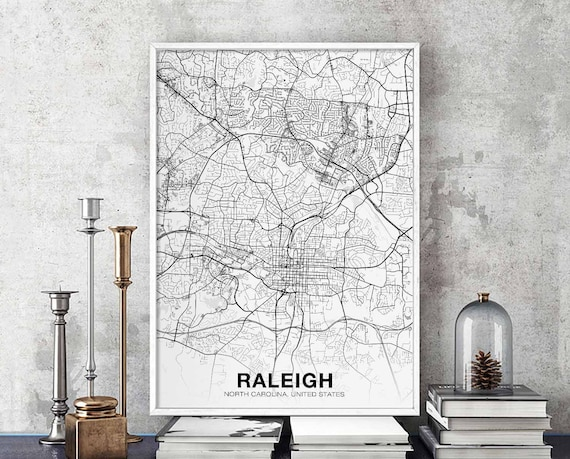 RALEIGH North Carolina NC USA map poster black white wall decor design on new orleans la on us map, tulsa ok on us map, portsmouth nh on us map, cincinnati oh on us map, rock hill sc on us map, san francisco ca on us map, charleston wv on us map, tucson az on us map, palatine il on us map, oakland ca on us map, scottsdale az on us map, lexington ky on us map, las vegas nv on us map, kansas city mo on us map, oklahoma city ok on us map, rapid city sd on us map, san antonio tx on us map, harrisburg pa on us map, rutland vt on us map, detroit mi on us map,