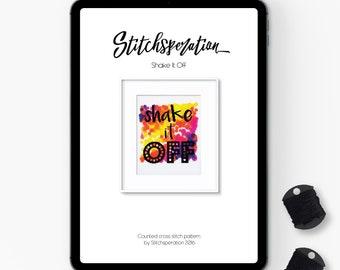 Shake it Off - Modern Cross Stitch PDF