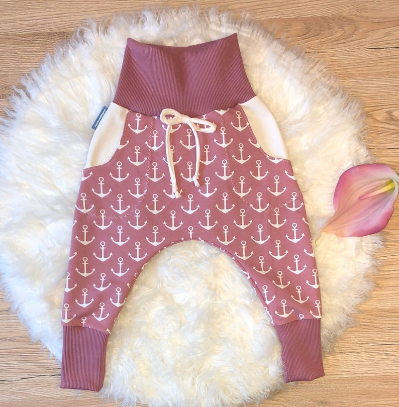 Baggy Pants Pants Babygirl Girl Baby Clothes Kids Clothes Anchor