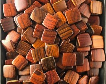 Exotic wood beads | Etsy