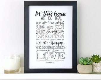 Christian Gifts | Christian Wall Art | Christian Prints | Wall Art | Home Decor | Make Today Beautiful