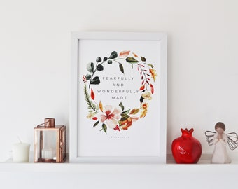 Scripture Wall Art | Gifts for Home | Christian Gifts | Christian Prints | Christian Wall Art | Home Decor | Make Today Beautiful