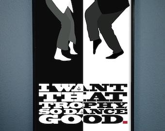 Pulp Fiction Minimalist Movie Poster Wall Art Movie Film