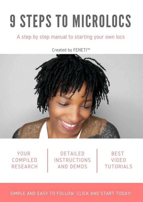 9 Steps To Microlocs A Step By Step Manual To Starting Your Etsy