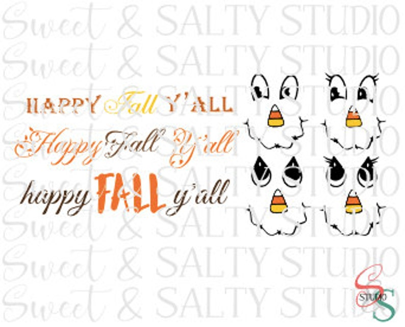 Scarecrow Template Happy Fall Y All Digital File Etsy