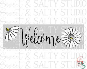 welcome daisies digital file