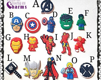 Hearing Aid Tube Trinkets or Cochlear Cuties:  Superhero Inspired Characters Batch 1! Please select quantity 2 for a pair!