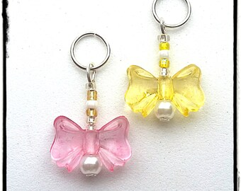 Hearing Aid Charms:  Beautiful Bows (available in a matching Mother Daughter Set)!