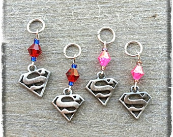 """Hearing Aid Charms: Super Heroes (also available in a matching Mother Daughter Set)! Select """"No bead"""" for boys!"""