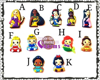 Cochlear Cuties or Hearing Aid Tube Trinkets: Princesses!  Please select quantity 2 for a pair!
