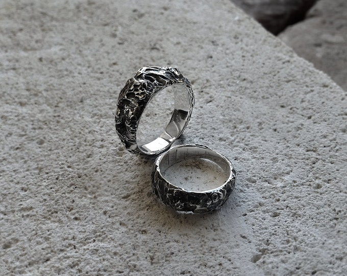 Deep Tissue - Sterling silver ring