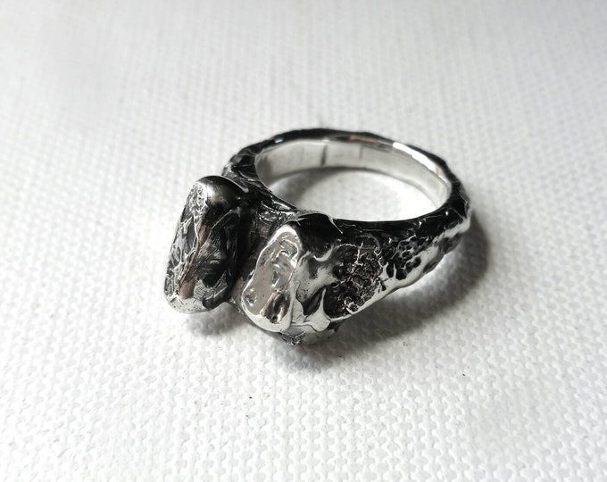 Triton - sterling silver ring