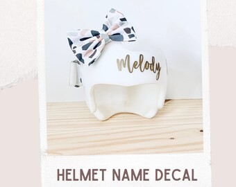 TESTERS WANTED (read description) - Cranial Helmet Name Decal