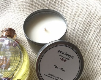 Spa-Aha Handcrafted Natural Soy Wax Candles