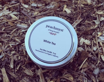 White Tea Handcrafted Natural Soy Wax Candles