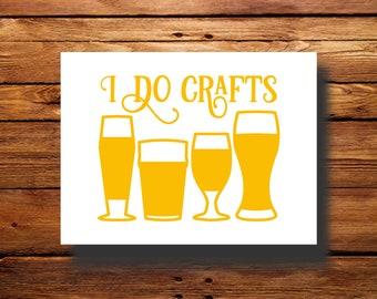 Vinyl Decal | #DFR0066 | Craft Beer | Oracal 651