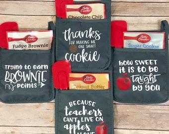 cookie pot holder gift set teacher christmas gifts teacher appreciation gift teacher gift ideas