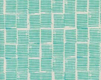 Cotton + Steel- Sienna- Hearth in Ocean- Alexia Abegg