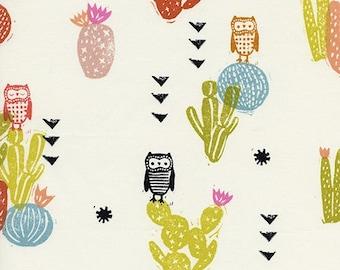 Cotton + Steel- Sienna- Desert Bloom in Poppy- Alexia Abegg