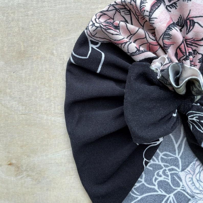 Dogwood Roses Bow Cap