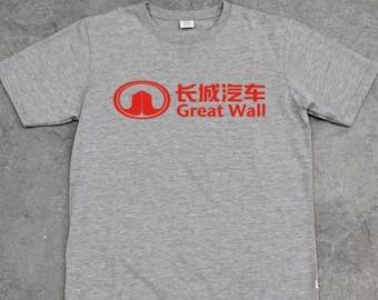 b6a0c3abd GREAT WALL of China tourist t-shirt