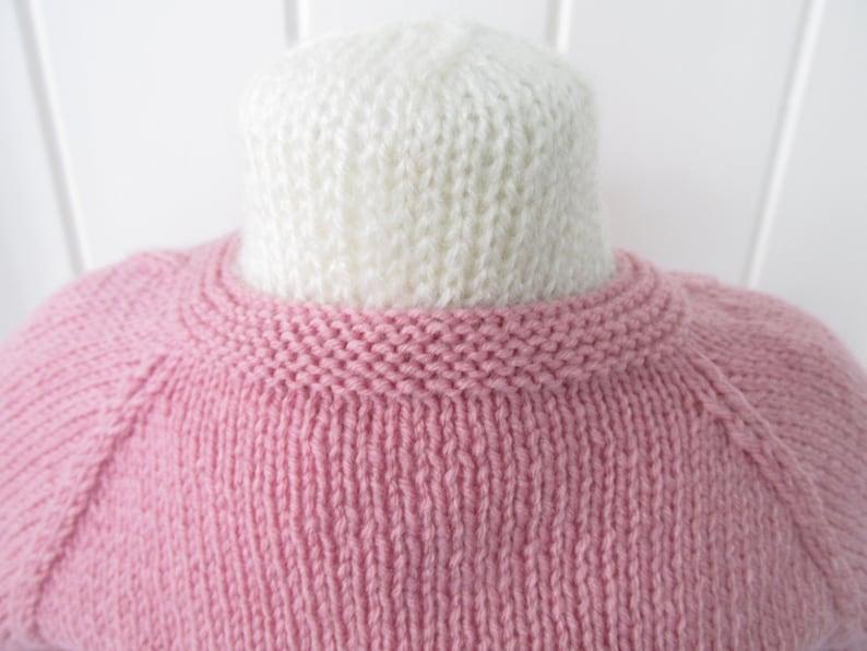 Fishtail Lace Baby Cardigan. Knitting pattern. Instant PDF ...