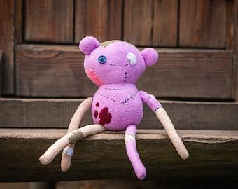 Hambo Marcy's bear handmade soft plush, 15 in made to order