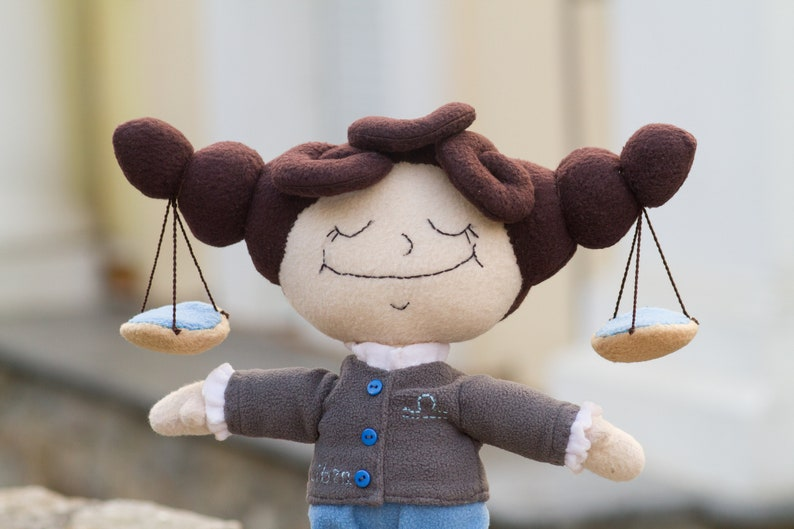 Luci plush handmade soft toy with wire frame in the Disenchantment inspired