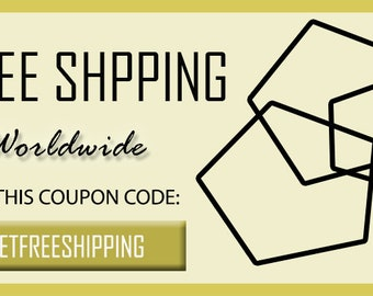 Elegant FREE SHIPPING, Free Shipping Wordwide, Coupon Code, Special Offer, Jewelry  On Sale, Special Price, Unique Geometric Jewelry