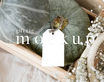 Favor Tag Mockup,Gift Tag Mockup,Holiday Tag Mockup,Haloween Mockup,Autumn Mockup,Thank You Tag Mockup,Styled Stock Photo,PSD smart object