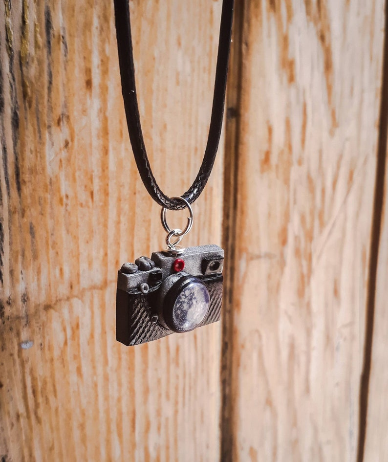 Brooches and pendants miniature camera Reflex camera necklace- handmade photographer gift