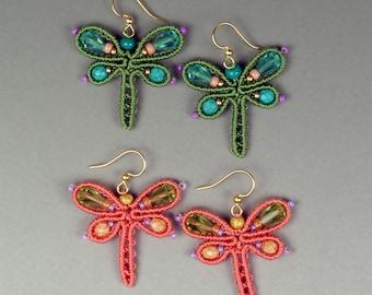 Dragonfly Earrings Tutorial