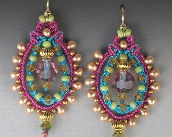 Shambala Earrings Tutorial
