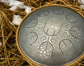 Small steel tongue drum w...
