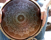 Steel tongue drum - GUBAR...