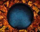 Black small handpan with ...