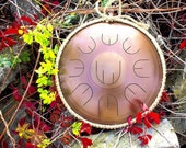 Little handpan with nine ...