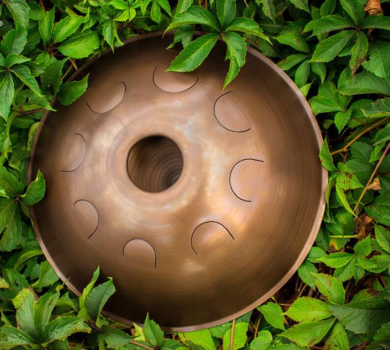 GUBAREV drum Standart without engraving hand made steel image 0