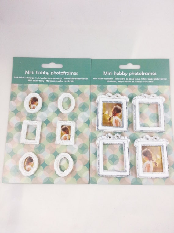 various small photo frame photo frames for scrapbooking and other ...