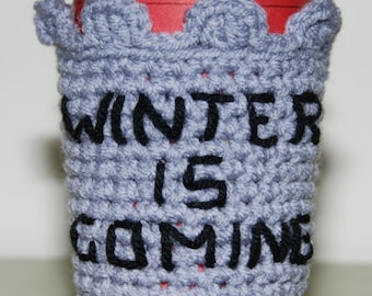 Game of Thrones-inspired Cup Cozy