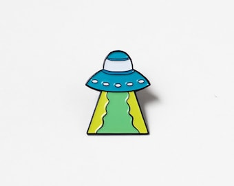 UFO Lapel Pin