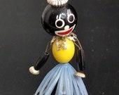 Vintage Plastic Hula Dashboard Doll