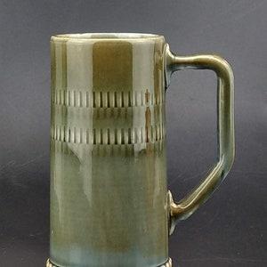 Vintage Wade Irish Porcelain Irish Jaunting-Car Made in Ireland 1950s Mug Stein