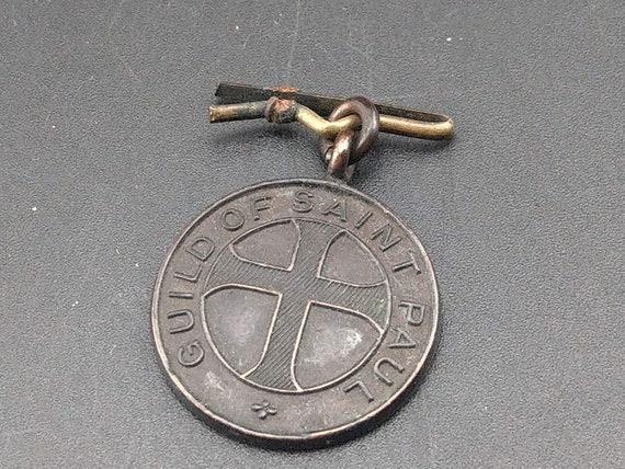 Guild of Saint Paul The Ascension Bronze Medal Cot