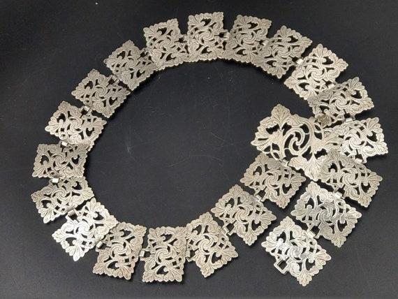 Antique Edwardian Silver Plated Nurses Belt