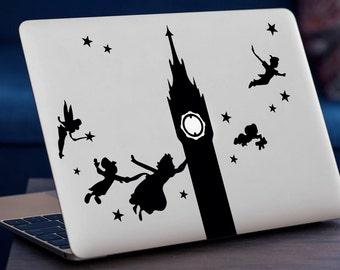 PETER PAN DISNEY MacBook Decal Sticker fits all MacBook models
