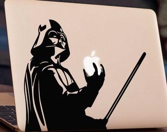 DARTH VADER MacBook Decal Sticker, fits all MacBook models