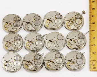 Split Washers Jumping Wall Grandfather Mantle Clock Assorted 100 Pcs New
