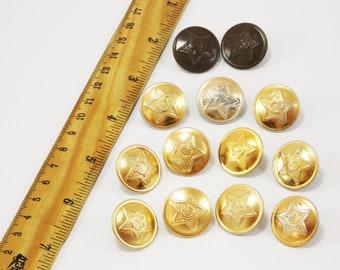 1ce8c9fd885 golden buttons military buttons collectable vintage unique buttons metal  sewing buttons antique buttons supplies scrapbook costume buttons