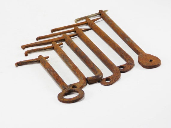 image 0 - Old Original Keys Antique Keys Bulk Vintage Door Keys Iron Etsy